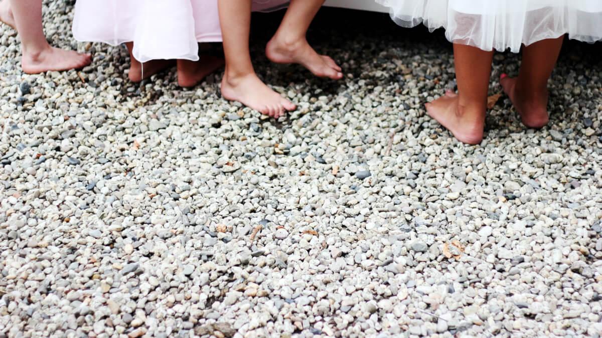 Barn på bröllopet